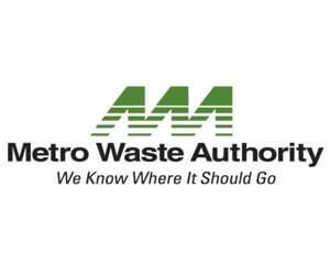The Metro Waste Authority logo.